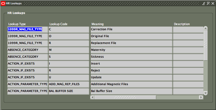 Enabling Oracle Applications folder feature in a custom form | amox