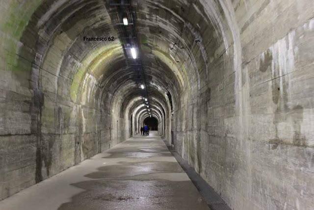 intérieur du tunnel Helfaut