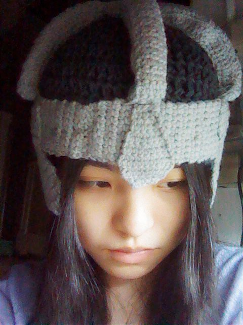 3b156101821 Crochet Fangirl  Lord of The Rings Inspired Dwarven Beard Helmet