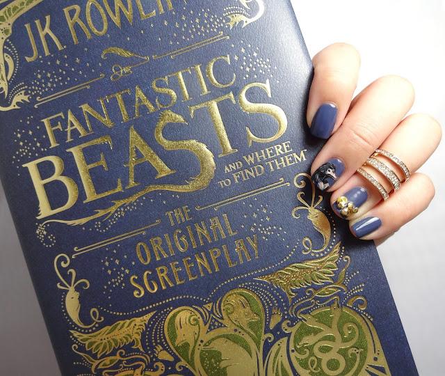 Fantastic Beasts Nail Art