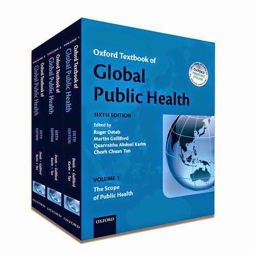 Oxford Giáo trình Y tế công cộng toàn cầu 6e