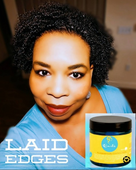 Click here to buy CURLS BLUEBERRY BLISS CURL CONTROL PASTE for laid but soft edges.