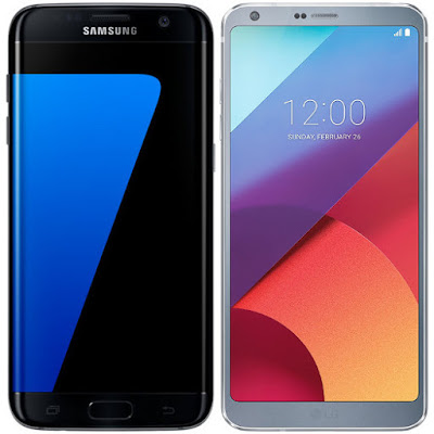 Samsung Galaxy S7 Edge vs LG G6