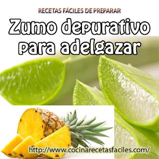Zumo depurativo para adelgazar✅ este jugo es muy bueno para depurar el tracto digestivo, lo que ye ayudará a eliminar una buena cantidad de toxinas.