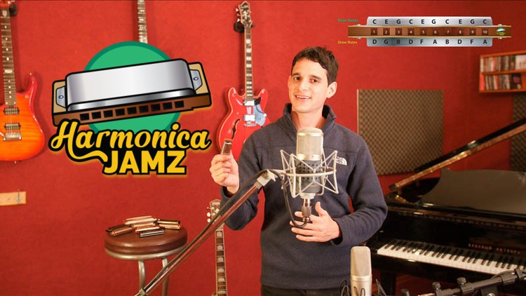 Harmonica Jamz: Play Any Song and JAM with Friends - Udemy Coupon