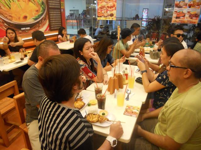 dining at Chicken Deli