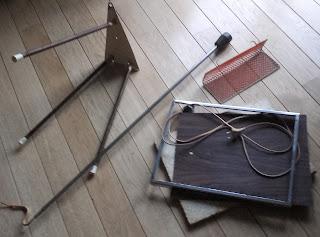Renowacja lampy ze stolikiem