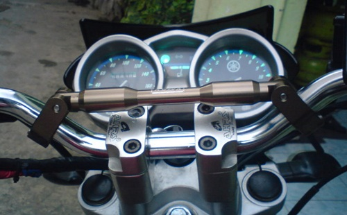 modifikasi stang motor motocross bars