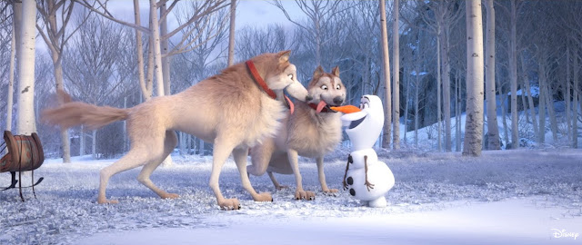 """#DisneyMagicMoments, At Home With Olaf - """"Doggies"""", Disney, Frozen, Frozen 2"""