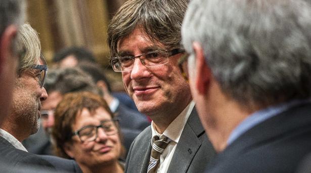 El Parlament de Catalunya aprueba la ley para convocar el referéndum