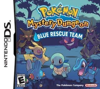 Pokemon Mundo Misterioso Equipo de rescate Azul, NDS, Español, Mega, Mediafire