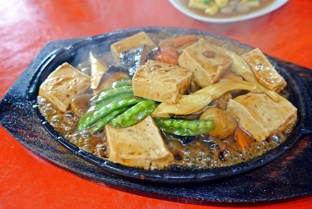 素食鐵板豆腐