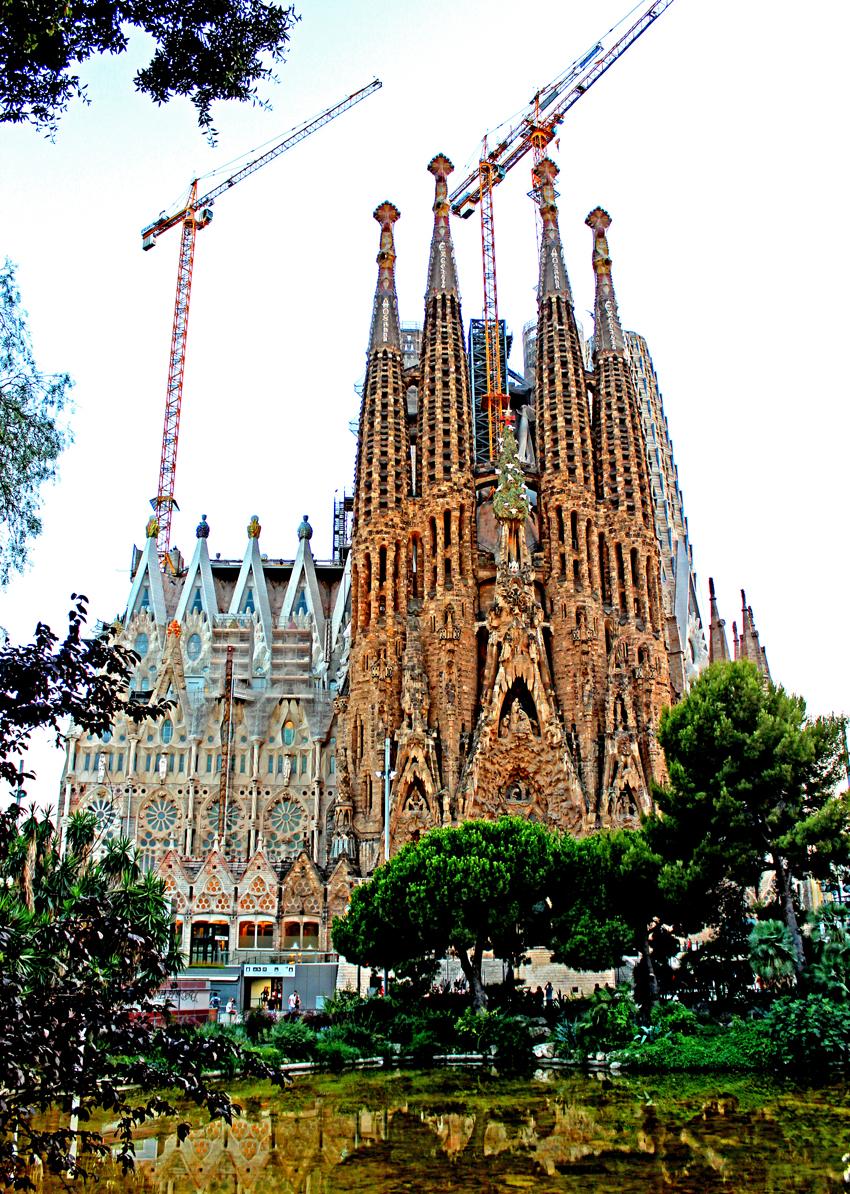 Barcelona part III –  SAGRADA   FAMILIA
