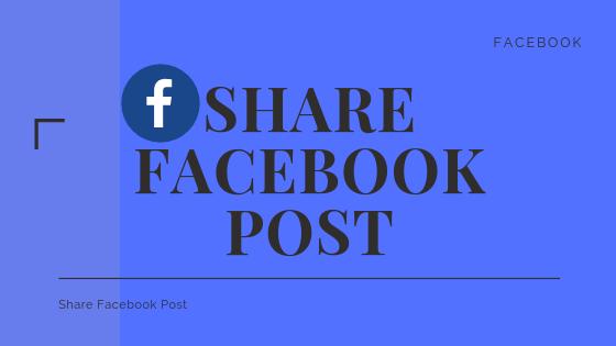 Share Facebook Post