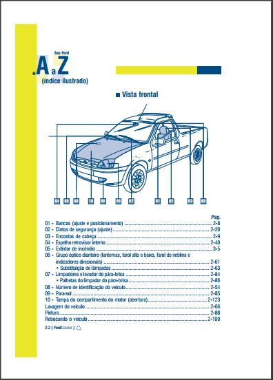 manual do meu carro rh manualdomeucarro blogspot com 97 Ford Ranger Engine Diagram 97 Ford Ranger 4x4