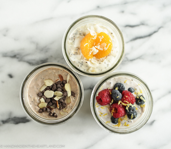 fresh overnight oat recipes for make ahead breakfasts