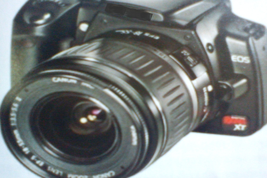 Gambar komponen utama kamera digital