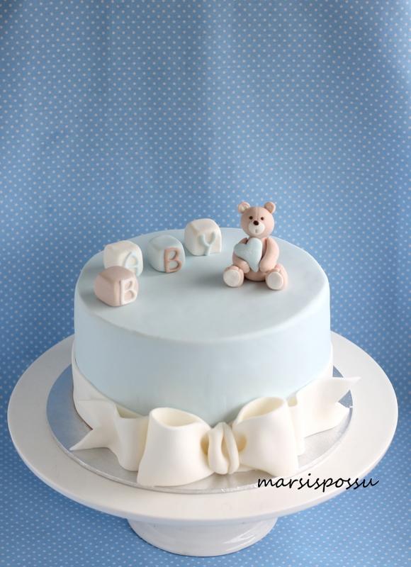 Baby shower kakku
