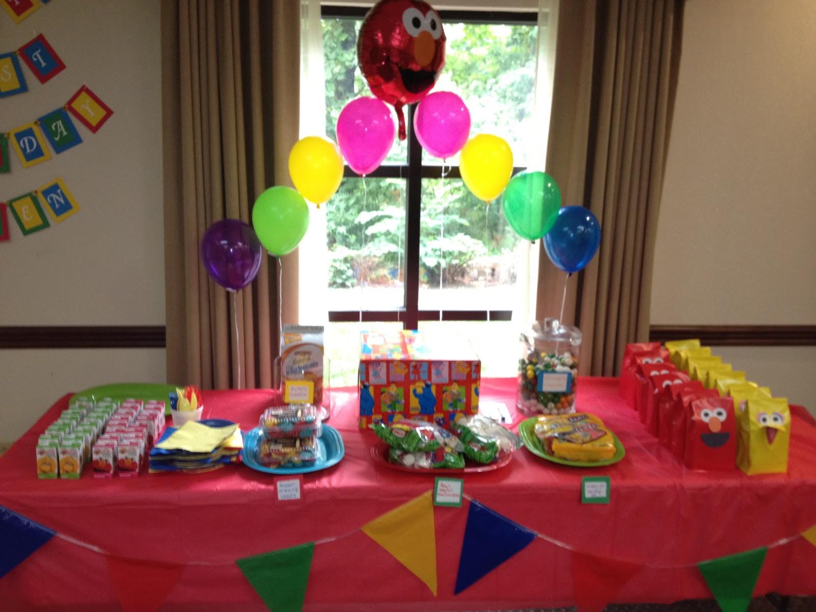 Shop, Craft, Bake: Sesame Street First Birthday