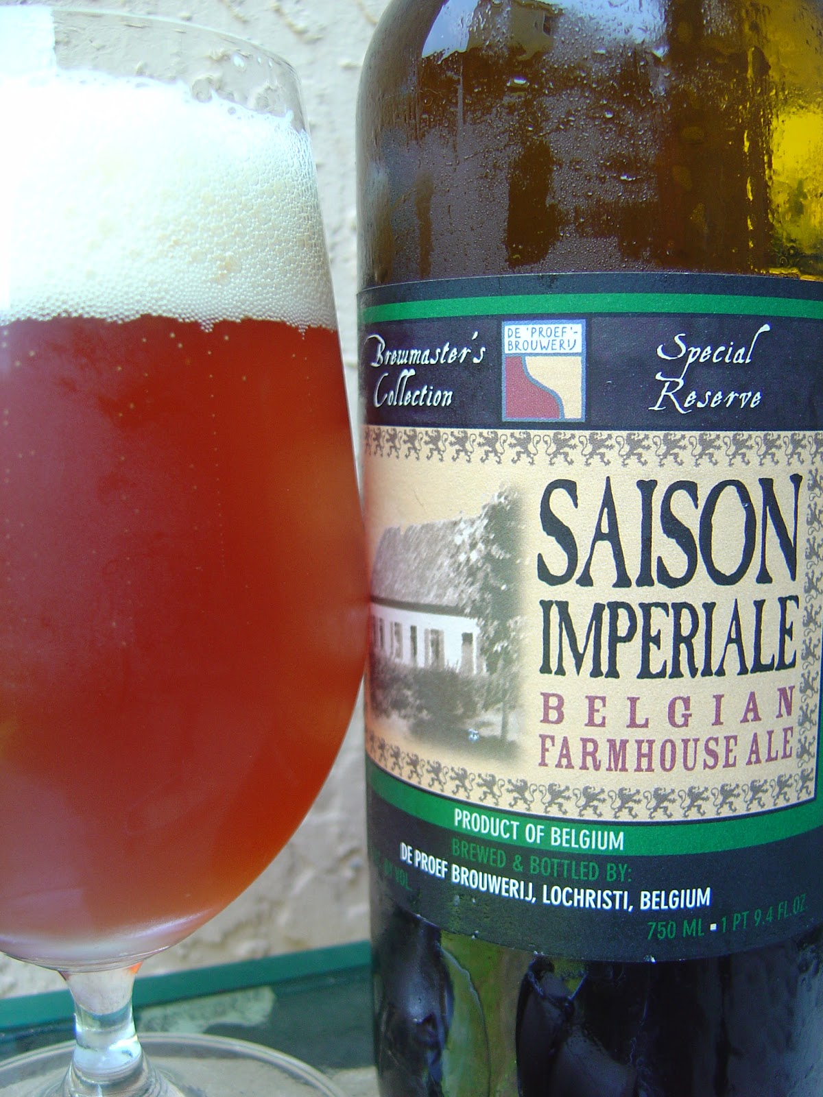 Saison Belgian Farmhouse Ale Daily Beer Review Saison Imperiale Belgian Farmhouse Ale