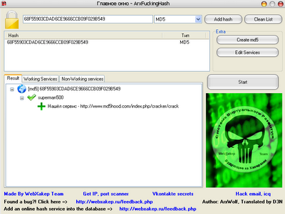 Crack Mysql Password Hash