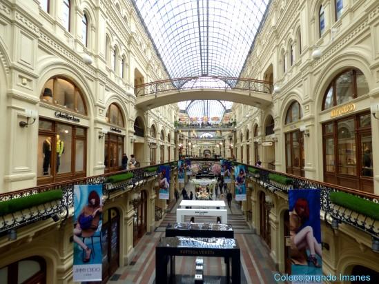 Centro comercial GUM Plaza Roja Moscu