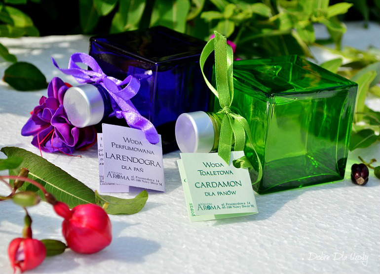 Dr Beta - Woda perfumowana Larendogra i Woda toaletowa Cardamon