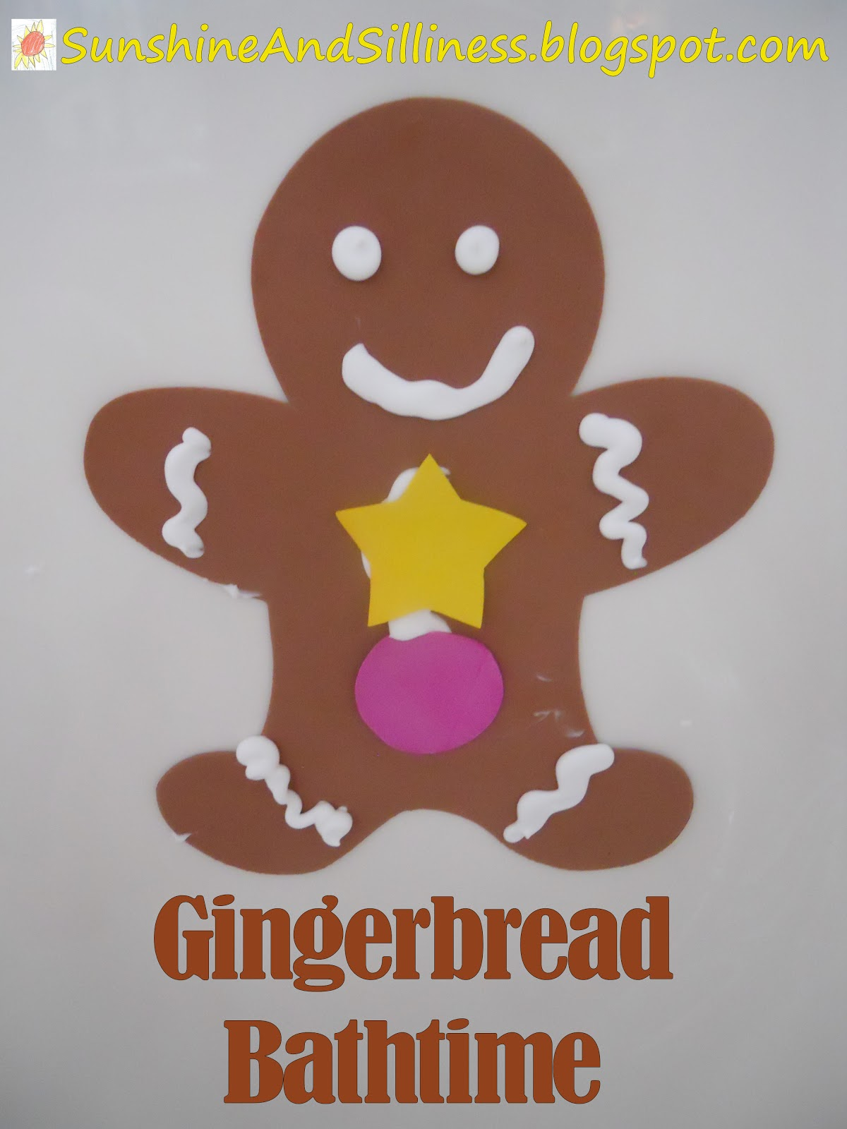Sunshine And Silliness G Is For Gingerbread