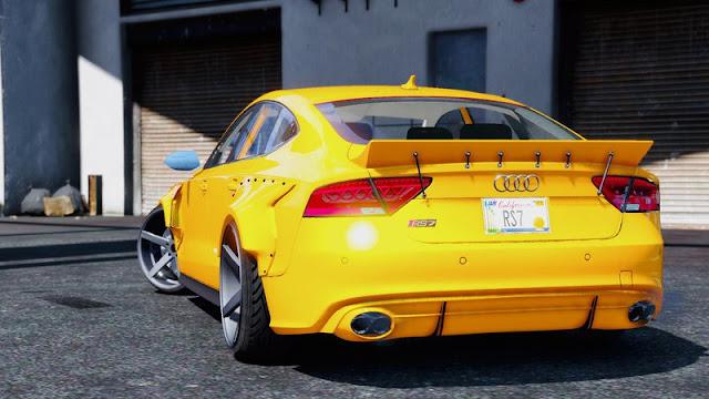 إضافة سيارات حقيقية إلى Grand Theft Auto 5