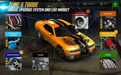Nitro Nation Racing Mod Apk v5.1.5 (Unlimited Booster + No Blown)