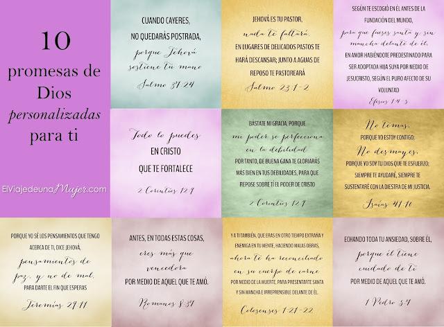 Versiculos Biblicos De Promesas De Dios: Versiculos Con Promesa Para Imprimir De La Biblia 10