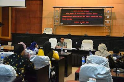 DPRD Jombang Gelar Paripurna Usulan Penggantian Wakil Ketua
