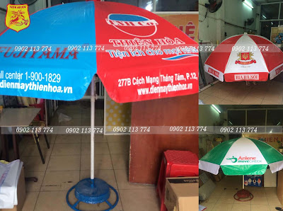 sản xuất ô dù quảng cáo ngoài trời