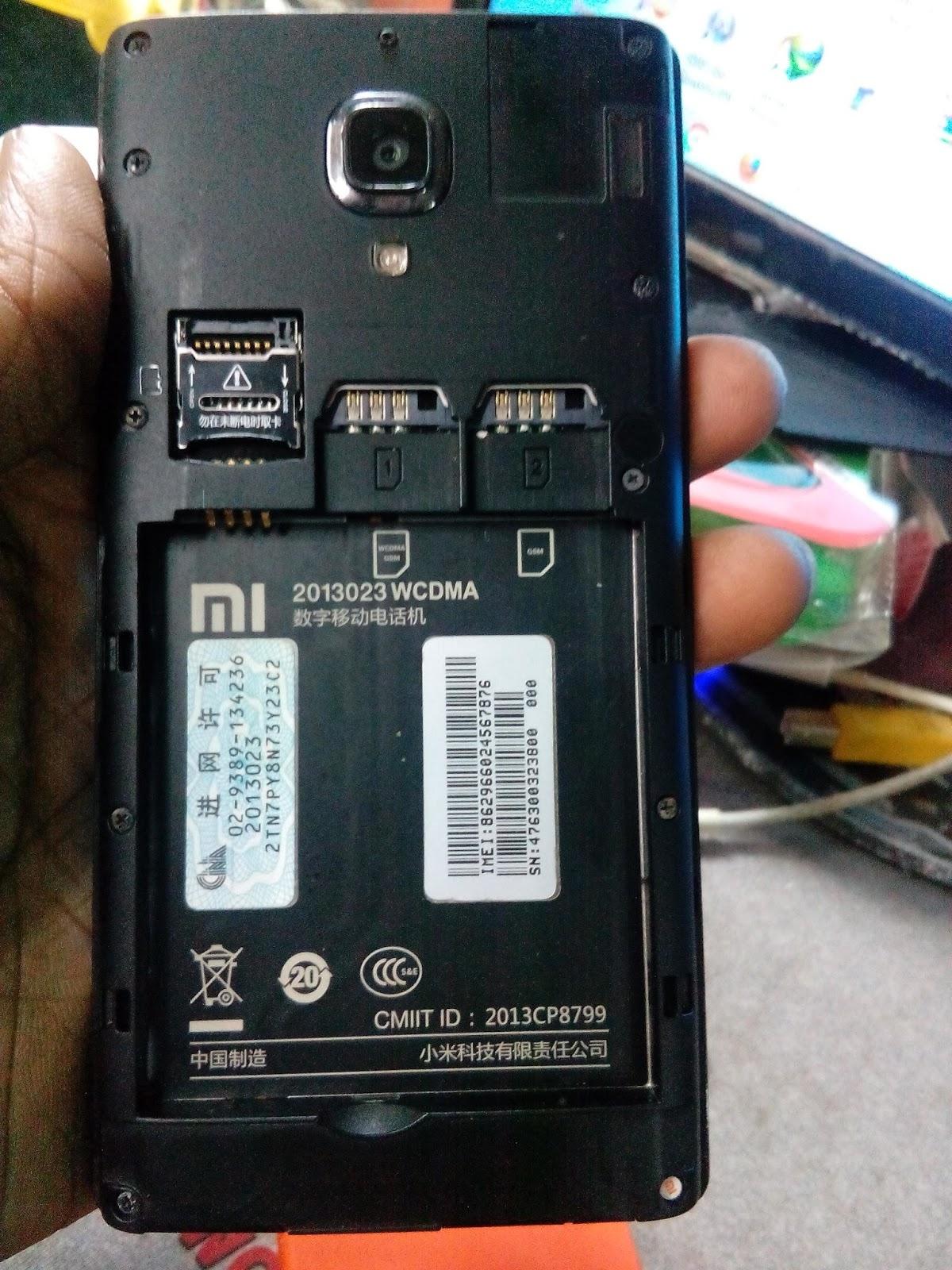 Xiaomi 2013023 firmware