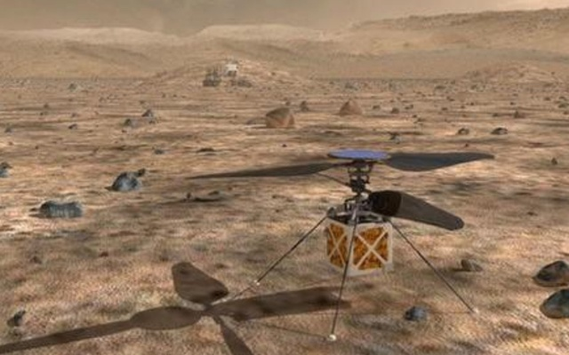 NASA's helicopter will go to Mars!