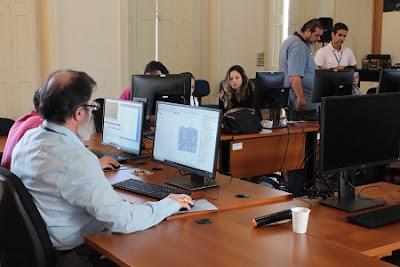 Pesquisadores participam de treinamento sobre Geodatabase