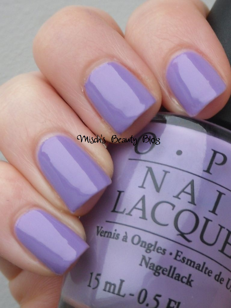 Misch's Beauty Blog: NOTD January 15th: OPI - Do You Lilac It?  Misch's Bea...