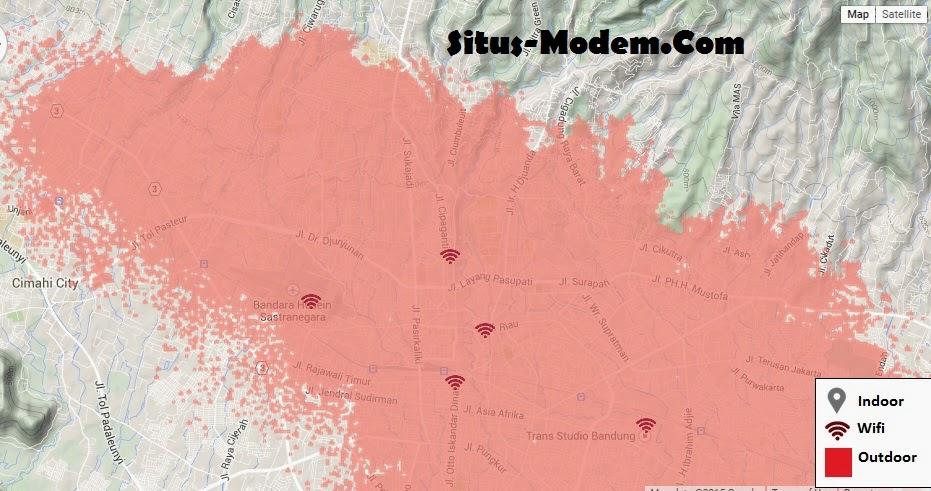 Kini 4G LTE Telkomsel Hadir Di Kota Bandung