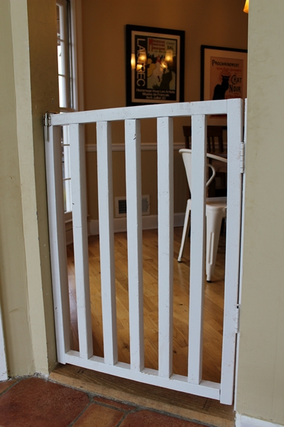 Boxy Colonial Diy Baby And Dog Gate Instructions