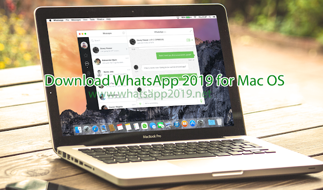 WhatsApp 2019 for Mac OS