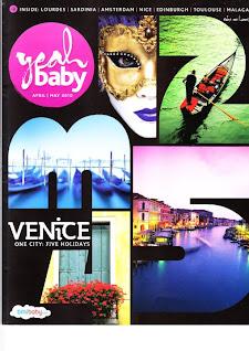 baby flight airline magazine
