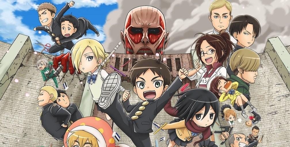 Manga Original Seperti Eren Dan Mikasa Dalam Menjalani Pertempuran Melawan Titan Cerita Ini Dibuat Dengan Menggabungkan Alur Shingeki No Kyojin