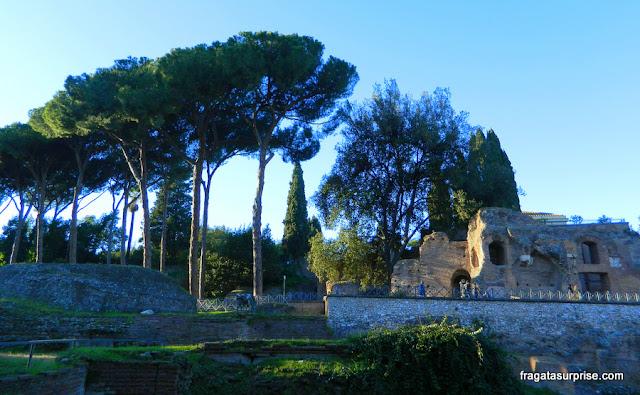 Palácio do Imperador Augusto no Monte Palatino, Roma
