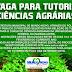 Vaga para Tutoria Ciência Agrárias, em Mundo Novo