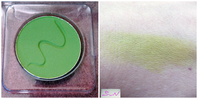 sombra mate wapa verde pistacho
