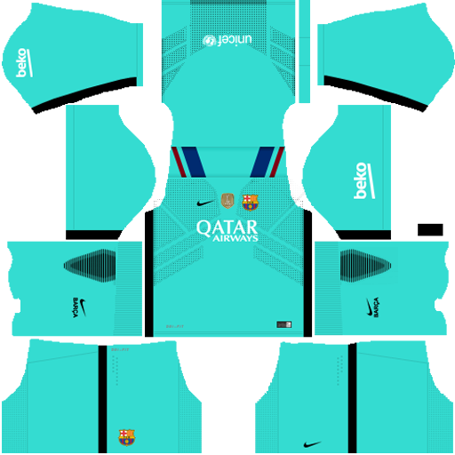 camiseta del barcelona para dream league