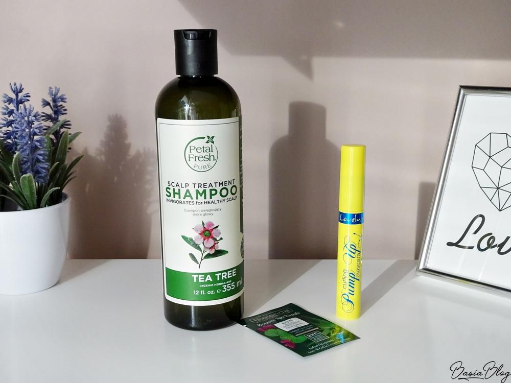 Petal Fresh Tea Tree Shampoo szampon, Lovely Pump Up tusz