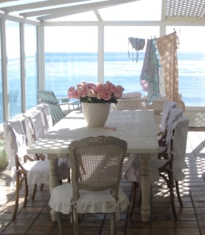 shabby chic beach cottage style decor