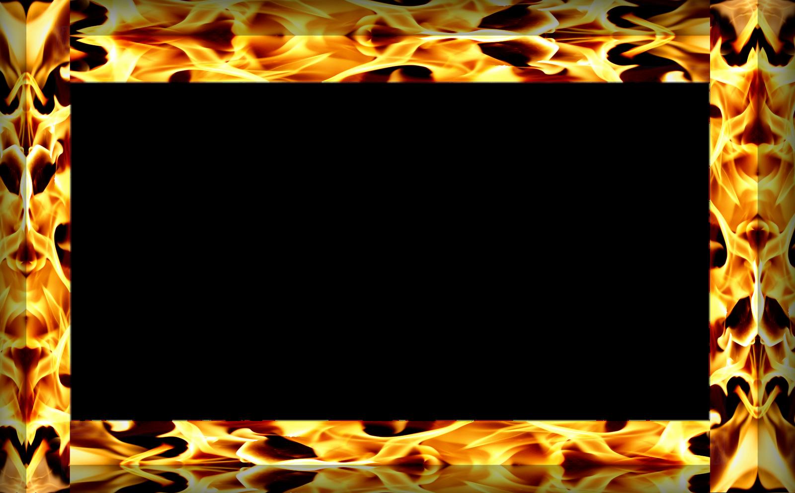 Огненные рамки картинки