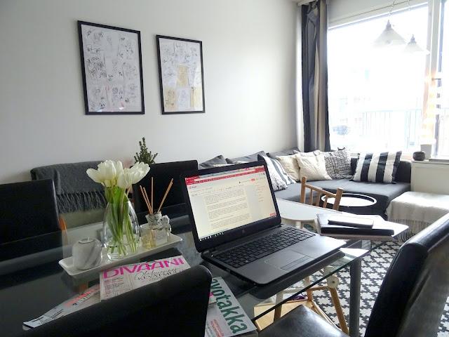 Mitä kirjoittaa blogiin keväällä.